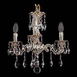 Подвесная люстра Bohemia Ivele CrystalНе более 4 ламп<br>Артикул - BI_1707_3_125_A_GW,Бренд - Bohemia Ivele Crystal (Чехия),Коллекция - 1707,Гарантия, месяцы - 24,Высота, мм - 350,Диаметр, мм - 420,Размер упаковки, мм - 450x450x200,Тип лампы - компактная люминесцентная [КЛЛ] ИЛИнакаливания ИЛИсветодиодная [LED],Общее кол-во ламп - 3,Напряжение питания лампы, В - 220,Максимальная мощность лампы, Вт - 40,Лампы в комплекте - отсутствуют,Цвет плафонов и подвесок - неокрашенный,Тип поверхности плафонов - прозрачный,Материал плафонов и подвесок - хрусталь,Цвет арматуры - золото беленое,Тип поверхности арматуры - глянцевый, рельефный,Материал арматуры - латунь,Возможность подлючения диммера - можно, если установить лампу накаливания,Форма и тип колбы - свеча ИЛИ свеча на ветру,Тип цоколя лампы - E14,Класс электробезопасности - I,Общая мощность, Вт - 120,Степень пылевлагозащиты, IP - 20,Диапазон рабочих температур - комнатная температура,Дополнительные параметры - способ крепления светильника к потолку - на крюке, указана высота светильника без подвеса<br>