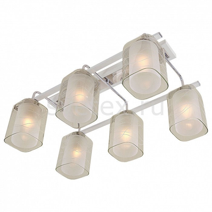 Накладной светильник CitiluxСветодиодные<br>Артикул - CL159160,Бренд - Citilux (Дания),Коллекция - Румба,Гарантия, месяцы - 24,Время изготовления, дней - 1,Длина, мм - 620,Ширина, мм - 365,Высота, мм - 280,Тип лампы - компактная люминесцентная [КЛЛ] ИЛИнакаливания ИЛИсветодиодная [LED],Общее кол-во ламп - 6,Напряжение питания лампы, В - 220,Максимальная мощность лампы, Вт - 75,Лампы в комплекте - отсутствуют,Цвет плафонов и подвесок - белый, неокрашенный с рисунком,Тип поверхности плафонов - матовый, прозрачный,Материал плафонов и подвесок - стекло,Цвет арматуры - белый, хром,Тип поверхности арматуры - глянцевый, матовый,Материал арматуры - металл,Количество плафонов - 6,Возможность подлючения диммера - можно, если установить лампу накаливания,Тип цоколя лампы - E27,Класс электробезопасности - I,Общая мощность, Вт - 450,Степень пылевлагозащиты, IP - 20,Диапазон рабочих температур - комнатная температура<br>