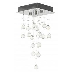 Накладной светильник Arti LampadariКвадратные<br>Артикул - AL_Flusso_H_1.4.20.615_N,Бренд - Arti Lampadari (Италия),Коллекция - Flusso,Гарантия, месяцы - 24,Высота, мм - 420,Тип лампы - галогеновая ИЛИсветодиодная [LED],Общее кол-во ламп - 2,Напряжение питания лампы, В - 220,Максимальная мощность лампы, Вт - 40,Лампы в комплекте - отсутствуют,Цвет плафонов и подвесок - неокрашенный,Тип поверхности плафонов - прозрачный,Материал плафонов и подвесок - хрусталь,Цвет арматуры - никель,Тип поверхности арматуры - глянцевый,Материал арматуры - металл,Возможность подлючения диммера - можно, если установить галогеновую лампу,Форма и тип колбы - пальчиковая,Тип цоколя лампы - G9,Класс электробезопасности - I,Общая мощность, Вт - 80,Степень пылевлагозащиты, IP - 20,Диапазон рабочих температур - комнатная температура,Дополнительные параметры - способ крепления к потолку - на монтажной пластине<br>