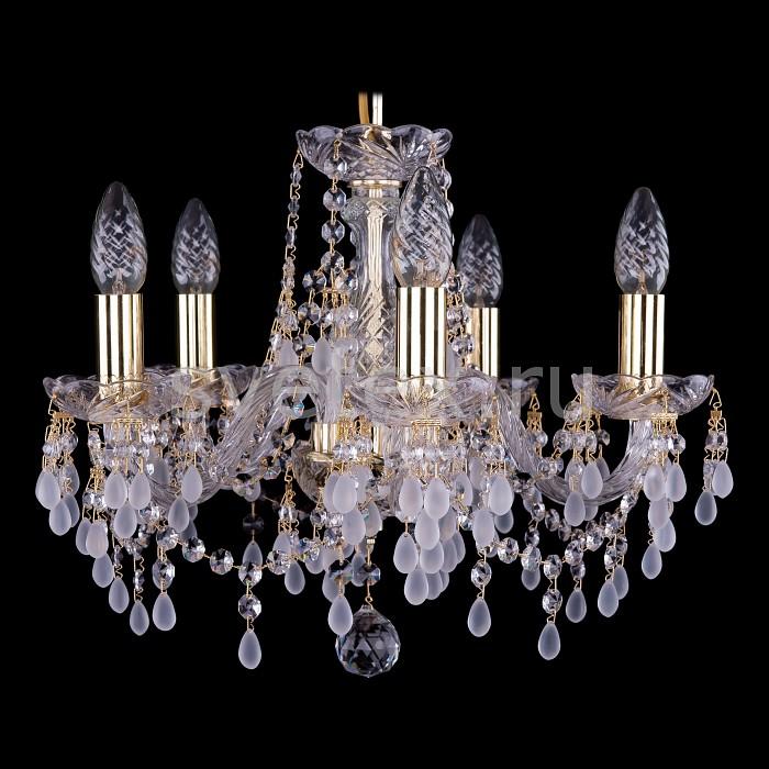 Фото Подвесная люстра Bohemia Ivele Crystal 1410 1410/5/141/G/0300