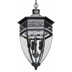 Подвесной светильник ChiaroС 1 плафоном<br>Артикул - CH_801010505,Бренд - Chiaro (Германия),Коллекция - Корсо 2, Корсо 2,Гарантия, месяцы - 24, 24,Высота, мм - 900-1900, 900-1900,Диаметр, мм - 400,Тип лампы - компактная люминесцентная [КЛЛ] ИЛИнакаливания ИЛИсветодиодная [LED],Общее кол-во ламп - 5,Напряжение питания лампы, В - 220,Максимальная мощность лампы, Вт - 60,Лампы в комплекте - отсутствуют,Цвет плафонов и подвесок - неокрашенный,Тип поверхности плафонов - прозрачный,Материал плафонов и подвесок - стекло,Цвет арматуры - черный, черный,Тип поверхности арматуры - глянцевый, рельефный,Материал арматуры - латунь,Тип цоколя лампы - E14,Класс электробезопасности - I,Общая мощность, Вт - 300,Степень пылевлагозащиты, IP - 44,Диапазон рабочих температур - от -40^C до +40^C,Дополнительные параметры - способ крепления к потолку - на монтажной пластине, регулируется по высоте<br>