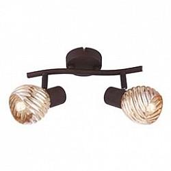 Спот GloboС 2 лампами<br>Артикул - GB_54644-2O,Бренд - Globo (Австрия),Коллекция - 54644,Гарантия, месяцы - 24,Тип лампы - компактная люминесцентная [КЛЛ] ИЛИнакаливания ИЛИсветодиодная [LED],Общее кол-во ламп - 2,Напряжение питания лампы, В - 220,Максимальная мощность лампы, Вт - 40,Лампы в комплекте - отсутствуют,Цвет плафонов и подвесок - тонированный,Тип поверхности плафонов - прозрачный, рельефный,Материал плафонов и подвесок - стекло,Цвет арматуры - кофейный,Тип поверхности арматуры - матовый,Материал арматуры - металл,Возможность подлючения диммера - можно, если установить лампу накаливания,Тип цоколя лампы - E14,Класс электробезопасности - I,Общая мощность, Вт - 80,Степень пылевлагозащиты, IP - 20,Диапазон рабочих температур - комнатная температура,Дополнительные параметры - способ крепления светильника к потолку и стене - на монтажной пластине, поворотный светильник<br>