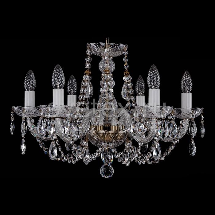 Фото Подвесная люстра Bohemia Ivele Crystal 1406 1406/6/195/Pa