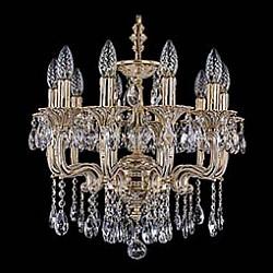 Подвесная люстра Bohemia Ivele CrystalБолее 6 ламп<br>Артикул - BI_1704_10_110_A_GW,Бренд - Bohemia Ivele Crystal (Чехия),Коллекция - 1704,Гарантия, месяцы - 12,Высота, мм - 400,Диаметр, мм - 500,Размер упаковки, мм - 510x510x200,Тип лампы - компактная люминесцентная [КЛЛ] ИЛИнакаливания ИЛИсветодиодная [LED],Общее кол-во ламп - 10,Напряжение питания лампы, В - 220,Максимальная мощность лампы, Вт - 40,Лампы в комплекте - отсутствуют,Цвет плафонов и подвесок - неокрашенный,Тип поверхности плафонов - прозрачный,Материал плафонов и подвесок - хрусталь,Цвет арматуры - золото беленое,Тип поверхности арматуры - глянцевый, рельефный,Материал арматуры - металл,Возможность подлючения диммера - можно, если установить лампу накаливания,Форма и тип колбы - свеча ИЛИ свеча на ветру,Тип цоколя лампы - E14,Класс электробезопасности - I,Общая мощность, Вт - 400,Степень пылевлагозащиты, IP - 20,Диапазон рабочих температур - комнатная температура,Дополнительные параметры - способ крепления светильника к потолку – на крюке<br>