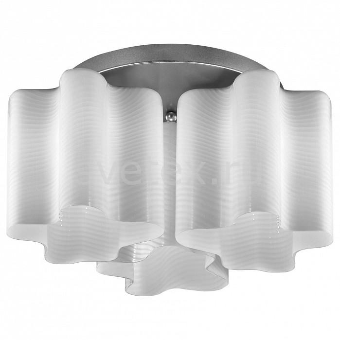 Потолочная люстра ST-LuceЛюстры<br>Артикул - SL117.502.03,Бренд - ST-Luce (Китай),Коллекция - Onde,Гарантия, месяцы - 24,Время изготовления, дней - 1,Высота, мм - 250,Диаметр, мм - 380,Тип лампы - компактная люминесцентная [КЛЛ] ИЛИнакаливания ИЛИсветодиодная [LED],Общее кол-во ламп - 3,Напряжение питания лампы, В - 220,Максимальная мощность лампы, Вт - 60,Лампы в комплекте - отсутствуют,Цвет плафонов и подвесок - белый полосатый,Тип поверхности плафонов - матовый,Материал плафонов и подвесок - стекло,Цвет арматуры - серебро,Тип поверхности арматуры - глянцевый,Материал арматуры - металл,Количество плафонов - 3,Возможность подлючения диммера - можно, если установить лампу накаливания,Тип цоколя лампы - E27,Класс электробезопасности - I,Общая мощность, Вт - 180,Степень пылевлагозащиты, IP - 20,Диапазон рабочих температур - комнатная температура,Дополнительные параметры - способ крепления светильника к потолку – на монтажной пластине<br>