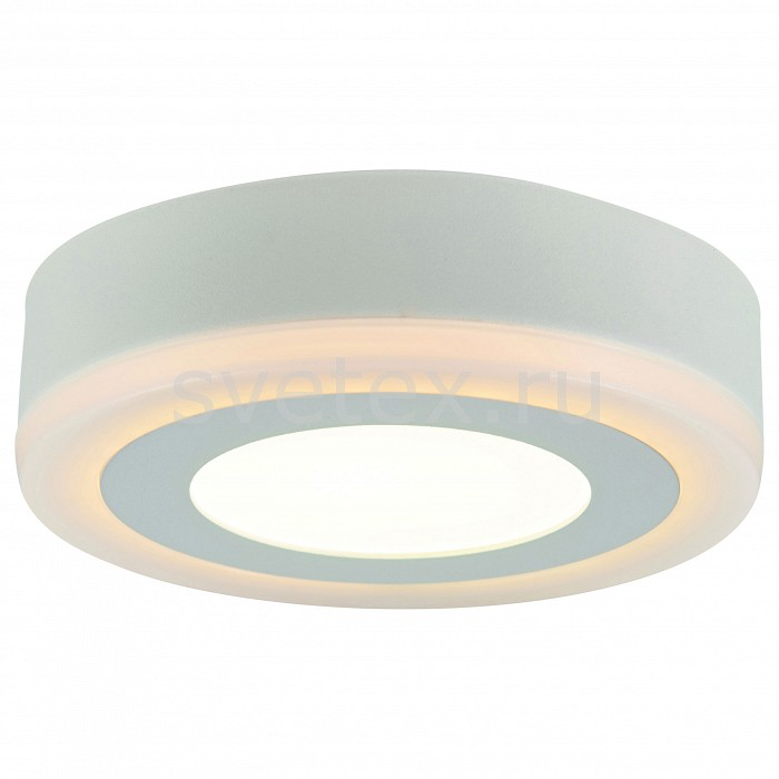 Накладной светильник Arte LampКруглые<br>Артикул - AR_A7809PL-2WH,Бренд - Arte Lamp (Италия),Коллекция - Antares,Гарантия, месяцы - 24,Высота, мм - 36,Диаметр, мм - 145,Размер упаковки, мм - 40x158x153,Тип лампы - светодиодная [LED],Общее кол-во ламп - 2,Напряжение питания лампы, В - 220,Максимальная мощность лампы, Вт - 3, 6,Цвет лампы - белый теплый, белый,Лампы в комплекте - светодиодные [LED],Цвет плафонов и подвесок - белый,Тип поверхности плафонов - матовый,Материал плафонов и подвесок - полимер,Цвет арматуры - белый,Тип поверхности арматуры - матовый,Материал арматуры - металл,Количество плафонов - 1,Возможность подлючения диммера - нельзя,Цветовая температура, K - 3000 K, 4000 K,Световой поток, лм - 630,Экономичнее лампы накаливания - в 6.6 раза,Светоотдача, лм/Вт - 70,Ресурс лампы - 20 тыс. час.,Класс электробезопасности - I,Общая мощность, Вт - 9,Степень пылевлагозащиты, IP - 20,Диапазон рабочих температур - комнатная температура,Дополнительные параметры - способ крепления к потолку - на монтажной пластине<br>