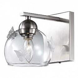 Бра Odeon LightС 1 лампой<br>Артикул - OD_2764_1W,Бренд - Odeon Light (Италия),Коллекция - Meleta,Гарантия, месяцы - 24,Время изготовления, дней - 1,Высота, мм - 230,Тип лампы - компактная люминесцентная [КЛЛ] ИЛИнакаливания ИЛИсветодиодная [LED],Общее кол-во ламп - 1,Напряжение питания лампы, В - 220,Максимальная мощность лампы, Вт - 40,Лампы в комплекте - отсутствуют,Цвет плафонов и подвесок - неокрашенный,Тип поверхности плафонов - прозрачный,Материал плафонов и подвесок - стекло,Цвет арматуры - никель,Тип поверхности арматуры - глянцевый,Материал арматуры - металл,Возможность подлючения диммера - можно, если установить лампу накаливания,Тип цоколя лампы - E14,Класс электробезопасности - I,Степень пылевлагозащиты, IP - 20,Диапазон рабочих температур - комнатная температура,Дополнительные параметры - светильник предназначен для использования со скрытой проводкой<br>
