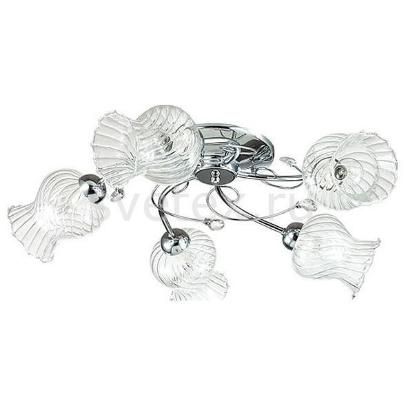 Потолочная люстра LumionЛюстры<br>Артикул - LMN_3073_5C,Бренд - Lumion (Италия),Коллекция - Frizza,Гарантия, месяцы - 24,Высота, мм - 180,Диаметр, мм - 650,Размер упаковки, мм - 330x190x480,Тип лампы - компактная люминесцентная [КЛЛ] ИЛИнакаливания ИЛИсветодиодная [LED],Общее кол-во ламп - 5,Напряжение питания лампы, В - 220,Максимальная мощность лампы, Вт - 40,Лампы в комплекте - отсутствуют,Цвет плафонов и подвесок - неокрашенный полосытые,Тип поверхности плафонов - прозрачный, рельефный,Материал плафонов и подвесок - стекло, хрусталь,Цвет арматуры - хром,Тип поверхности арматуры - глянцевый, металлик,Материал арматуры - металл,Количество плафонов - 5,Возможность подлючения диммера - можно, если установить лампу накаливания,Тип цоколя лампы - E14,Класс электробезопасности - I,Общая мощность, Вт - 200,Степень пылевлагозащиты, IP - 20,Диапазон рабочих температур - комнатная температура,Дополнительные параметры - способ крепления к потолку - на монтажной пластине<br>
