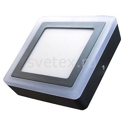 Накладной светильник ElvanСветильники<br>Артикул - ELV_NLS_500_SQ_12_4,Бренд - Elvan (Россия),Коллекция - NLS,Гарантия, месяцы - 24,Высота, мм - 40,Диаметр, мм - 195,Размер упаковки, мм - 195x195x40,Тип лампы - светодиодные [LED],Общее кол-во ламп - 2,Напряжение питания лампы, В - 220,Максимальная мощность лампы, Вт - 4, 12,Цвет лампы - белый теплый, белый,Лампы в комплекте - светодиодные [LED],Цвет плафонов и подвесок - белый,Тип поверхности плафонов - матовый,Материал плафонов и подвесок - полимер,Цвет арматуры - черный,Тип поверхности арматуры - матовый,Материал арматуры - дюралюминий,Количество плафонов - 1,Цветовая температура, K - 3000, 4000 K,Экономичнее лампы накаливания - В 6, 6 раза,Класс электробезопасности - I,Общая мощность, Вт - 16,Степень пылевлагозащиты, IP - 44,Диапазон рабочих температур - от -40^C до +40^C<br>