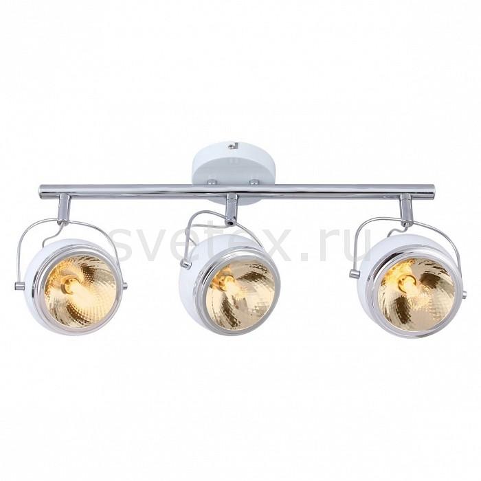Спот Arte LampСпоты<br>Артикул - AR_A4509PL-3WH,Бренд - Arte Lamp (Италия),Коллекция - Orbiter,Гарантия, месяцы - 24,Длина, мм - 580,Ширина, мм - 140,Выступ, мм - 220,Тип лампы - галогеновая ИЛИсветодиодная [LED],Общее кол-во ламп - 3,Напряжение питания лампы, В - 220,Максимальная мощность лампы, Вт - 40,Лампы в комплекте - отсутствуют,Цвет плафонов и подвесок - белый с каймой,Тип поверхности плафонов - матовый,Материал плафонов и подвесок - металл,Цвет арматуры - белый,Тип поверхности арматуры - матовый,Материал арматуры - металл,Количество плафонов - 3,Возможность подлючения диммера - можно, если установить галогеновую лампу,Компоненты, входящие в комплект - рефлектор,Форма и тип колбы - пальчиковая,Тип цоколя лампы - G9,Класс электробезопасности - I,Общая мощность, Вт - 120,Степень пылевлагозащиты, IP - 20,Диапазон рабочих температур - комнатная температура,Дополнительные параметры - способ крепления светильника к стене и потолку - на монтажной пластине, повоторный светильник<br>