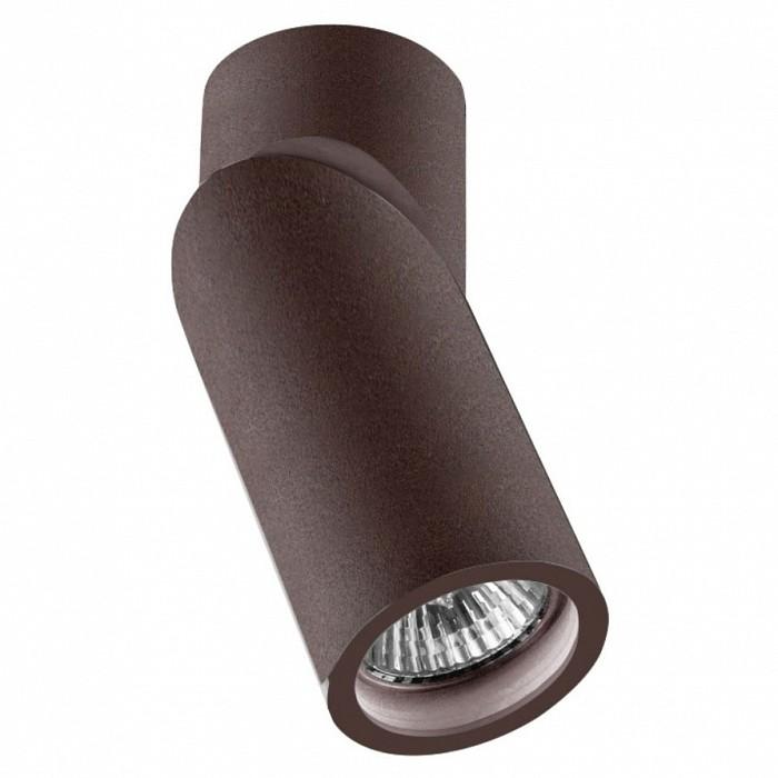Светильник на штанге Crystal LuxПотолочные светильники<br>Артикул - CU_1400_101,Бренд - Crystal Lux (Испания),Коллекция - Clt 030,Гарантия, месяцы - 24,Высота, мм - 156,Диаметр, мм - 60,Тип лампы - галогеновая ИЛИсветодиодная [LED],Общее кол-во ламп - 1,Напряжение питания лампы, В - 220,Максимальная мощность лампы, Вт - 35,Лампы в комплекте - отсутствуют,Цвет плафонов и подвесок - коричневый,Тип поверхности плафонов - матовый,Материал плафонов и подвесок - металл,Цвет арматуры - коричневый,Тип поверхности арматуры - матовый,Материал арматуры - металл,Количество плафонов - 1,Форма и тип колбы - полусферическая с рефлектором,Тип цоколя лампы - GU10,Класс электробезопасности - I,Степень пылевлагозащиты, IP - 44,Диапазон рабочих температур - от -40^C до +40^C,Дополнительные параметры - способ крепления светильника к потолку - на монтажной пластине, поворотный светильник<br>