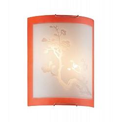 Накладной светильник SonexСветодиодные<br>Артикул - SN_2248,Бренд - Sonex (Россия),Коллекция - Sakura,Гарантия, месяцы - 24,Высота, мм - 275,Тип лампы - компактная люминесцентная [КЛЛ] ИЛИнакаливания ИЛИсветодиодная [LED],Общее кол-во ламп - 2,Напряжение питания лампы, В - 220,Максимальная мощность лампы, Вт - 60,Лампы в комплекте - отсутствуют,Цвет плафонов и подвесок - белый с рисунком и оранжевой каймой,Тип поверхности плафонов - матовый,Материал плафонов и подвесок - стекло,Цвет арматуры - хром,Тип поверхности арматуры - глянцевый,Материал арматуры - металл,Возможность подлючения диммера - можно, если установить лампу накаливания,Тип цоколя лампы - E27,Класс электробезопасности - I,Общая мощность, Вт - 120,Степень пылевлагозащиты, IP - 20,Диапазон рабочих температур - комнатная температура<br>