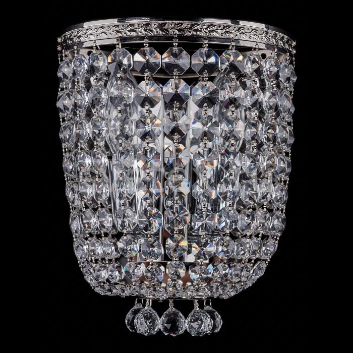 Фото Накладной светильник Bohemia Ivele Crystal 1928 1928/2/S/Ni