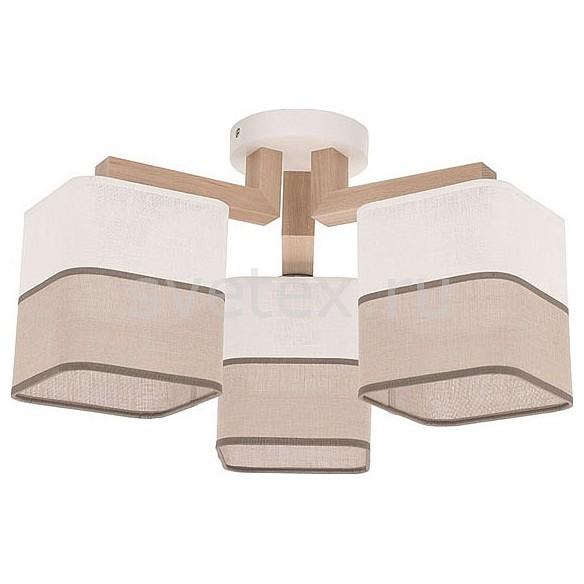 Потолочная люстра TK LightingТекстильные плафоны<br>Артикул - EV_72671,Бренд - TK Lighting (Польша),Коллекция - Inka,Гарантия, месяцы - 24,Длина, мм - 470,Ширина, мм - 470,Высота, мм - 270,Тип лампы - компактная люминесцентная [КЛЛ] ИЛИнакаливания ИЛИсветодиодная [LED],Общее кол-во ламп - 3,Напряжение питания лампы, В - 220,Максимальная мощность лампы, Вт - 60,Лампы в комплекте - отсутствуют,Цвет плафонов и подвесок - белый, коричневый,Тип поверхности плафонов - матовый,Материал плафонов и подвесок - пвх, текстиль,Цвет арматуры - белый, светлое дерево,Тип поверхности арматуры - матовый,Материал арматуры - дерево,Количество плафонов - 3,Возможность подлючения диммера - можно, если установить лампу накаливания,Тип цоколя лампы - E27,Класс электробезопасности - I,Общая мощность, Вт - 180,Степень пылевлагозащиты, IP - 20,Диапазон рабочих температур - комнатная температура,Дополнительные параметры - способ крепления к потолку - на монтажной пластине<br>