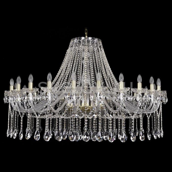 Подвесная люстра Bohemia Ivele CrystalБолее 6 ламп<br>Артикул - BI_1413_24_530-100_G,Бренд - Bohemia Ivele Crystal (Чехия),Коллекция - 1413,Гарантия, месяцы - 24,Высота, мм - 1000,Диаметр, мм - 1460,Размер упаковки, мм - 450x450x200,Тип лампы - компактная люминесцентная [КЛЛ] ИЛИнакаливания ИЛИсветодиодная [LED],Общее кол-во ламп - 24,Напряжение питания лампы, В - 220,Максимальная мощность лампы, Вт - 40,Лампы в комплекте - отсутствуют,Цвет плафонов и подвесок - неокрашенный,Тип поверхности плафонов - прозрачный,Материал плафонов и подвесок - хрусталь,Цвет арматуры - золото, неокрашенный,Тип поверхности арматуры - глянцевый, прозрачный,Материал арматуры - металл, стекло,Возможность подлючения диммера - можно, если установить лампу накаливания,Форма и тип колбы - свеча ИЛИ свеча на ветру,Тип цоколя лампы - E14,Класс электробезопасности - I,Общая мощность, Вт - 960,Степень пылевлагозащиты, IP - 20,Диапазон рабочих температур - комнатная температура,Дополнительные параметры - способ крепления светильника к потолку - на крюке, указана высота светильники без подвеса<br>