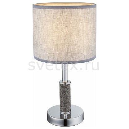 Настольная лампа декоративная Globoприкроватные светильники для спальни купить<br>Артикул - GB_24688T,Бренд - Globo (Австрия),Коллекция - Umbrella,Гарантия, месяцы - 24,Высота, мм - 380,Диаметр, мм - 190,Тип лампы - компактная люминесцентная [КЛЛ] ИЛИнакаливания ИЛИсветодиодная [LED],Общее кол-во ламп - 1,Напряжение питания лампы, В - 220,Максимальная мощность лампы, Вт - 40,Лампы в комплекте - отсутствуют,Цвет плафонов и подвесок - бежевый,Тип поверхности плафонов - матовый,Материал плафонов и подвесок - текстиль,Цвет арматуры - хром,Тип поверхности арматуры - глянцевый,Материал арматуры - металл,Количество плафонов - 1,Наличие выключателя, диммера или пульта ДУ - выключатель на проводе,Компоненты, входящие в комплект - провод электропитания с вилкой без заземления,Тип цоколя лампы - E14,Класс электробезопасности - II,Степень пылевлагозащиты, IP - 20,Диапазон рабочих температур - комнатная температура<br>