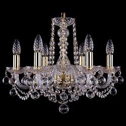 Подвесная люстра Bohemia Ivele Crystal5 или 6 ламп<br>Артикул - BI_1402_6_160_G_Balls,Бренд - Bohemia Ivele Crystal (Чехия),Коллекция - 1402,Гарантия, месяцы - 24,Высота, мм - 410,Диаметр, мм - 490,Размер упаковки, мм - 450x450x200,Тип лампы - компактная люминесцентная [КЛЛ] ИЛИнакаливания ИЛИсветодиодная [LED],Общее кол-во ламп - 6,Напряжение питания лампы, В - 220,Максимальная мощность лампы, Вт - 40,Лампы в комплекте - отсутствуют,Цвет плафонов и подвесок - неокрашенный,Тип поверхности плафонов - прозрачный,Материал плафонов и подвесок - хрусталь,Цвет арматуры - золото, неокрашенный,Тип поверхности арматуры - глянцевый, прозрачный,Материал арматуры - металл, стекло,Возможность подлючения диммера - можно, если установить лампу накаливания,Форма и тип колбы - свеча,Тип цоколя лампы - E14,Класс электробезопасности - I,Общая мощность, Вт - 240,Степень пылевлагозащиты, IP - 20,Диапазон рабочих температур - комнатная температура,Дополнительные параметры - способ крепления светильника к потолку – на крюке<br>