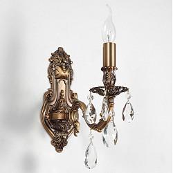 Бра Lucia TucciС 1 лампой<br>Артикул - LT_FIRENZE_W141.1_antique,Бренд - Lucia Tucci (Италия),Коллекция - Firenze,Гарантия, месяцы - 24,Высота, мм - 440,Тип лампы - компактная люминесцентная [КЛЛ] ИЛИнакаливания ИЛИсветодиодная [LED],Общее кол-во ламп - 1,Напряжение питания лампы, В - 220,Максимальная мощность лампы, Вт - 60,Лампы в комплекте - отсутствуют,Цвет плафонов и подвесок - неокрашенный,Тип поверхности плафонов - прозрачный,Материал плафонов и подвесок - хрусталь,Цвет арматуры - бронза античная,Тип поверхности арматуры - матовый, рельефный,Материал арматуры - металл,Возможность подлючения диммера - можно, если установить лампу накаливания,Форма и тип колбы - свеча ИЛИ свеча на ветру,Тип цоколя лампы - E14,Класс электробезопасности - I,Степень пылевлагозащиты, IP - 20,Диапазон рабочих температур - комнатная температура,Дополнительные параметры - светильник предназначен для использования со скрытой проводкой<br>