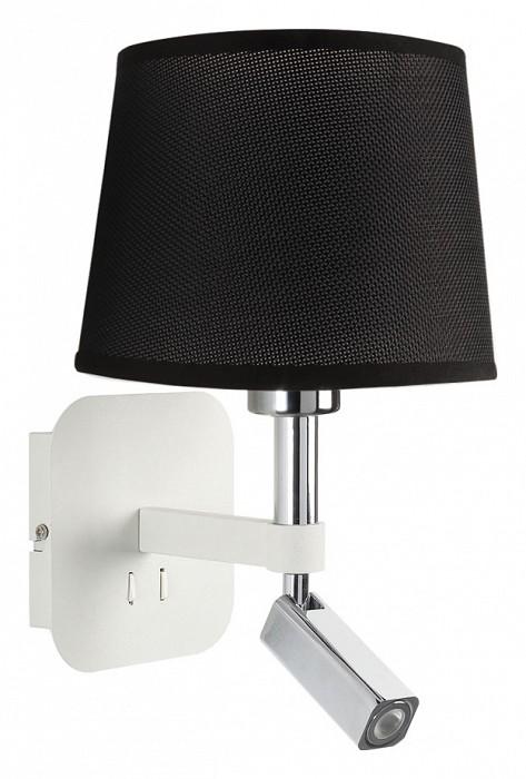 Бра MantraСветодиодные<br>Артикул - MN_5316_5238,Бренд - Mantra (Испания),Коллекция - Habana,Гарантия, месяцы - 24,Ширина, мм - 200,Высота, мм - 366,Выступ, мм - 235,Тип лампы - компактная люминесцентная [КЛЛ] ИЛИсветодиодная [LED],Общее кол-во ламп - 2,Напряжение питания лампы, В - 220,Максимальная мощность лампы, Вт - 3, 13,Цвет лампы - белый теплый,Лампы в комплекте - светодиодные [LED],Цвет плафонов и подвесок - черный,Тип поверхности плафонов - матовый,Материал плафонов и подвесок - текстиль,Цвет арматуры - белый, хром,Тип поверхности арматуры - глянцевый, матовый,Материал арматуры - металл,Количество плафонов - 1,Наличие выключателя, диммера или пульта ДУ - выключатель,Тип цоколя лампы - E27,Цветовая температура, K - 3000 K,Световой поток, лм - 200,Экономичнее лампы накаливания - в 2.6 раза,Светоотдача, лм/Вт - 25,Класс электробезопасности - II,Общая мощность, Вт - 16,Степень пылевлагозащиты, IP - 20,Диапазон рабочих температур - комнатная температура,Дополнительные параметры - способ крепления светильника на стене – на монтажной пластине, светильник предназначен для использования со скрытой проводкой, поворотный светильник<br>