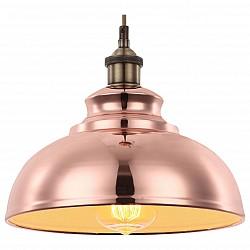 Подвесной светильник GloboС 1 плафоном<br>Артикул - GB_15083,Бренд - Globo (Австрия),Коллекция - Mandy,Гарантия, месяцы - 24,Высота, мм - 1200,Диаметр, мм - 285,Размер упаковки, мм - 300x300x185,Тип лампы - накаливания,Общее кол-во ламп - 1,Напряжение питания лампы, В - 220,Максимальная мощность лампы, Вт - 60,Лампы в комплекте - накаливания E27,Цвет плафонов и подвесок - медный,Тип поверхности плафонов - сатин,Материал плафонов и подвесок - металл,Цвет арматуры - медный,Тип поверхности арматуры - сатин,Материал арматуры - металл,Возможность подлючения диммера - можно,Форма и тип колбы - конусная,Тип цоколя лампы - E27,Класс электробезопасности - I,Степень пылевлагозащиты, IP - 20,Диапазон рабочих температур - комнатная температура,Дополнительные параметры - способ крепления светильника к потолку – на монтажной пластине<br>