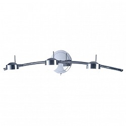 Бра IDLampБолее 1 лампы<br>Артикул - ID_348_3A-Chrome,Бренд - IDLamp (Италия),Коллекция - 348,Высота, мм - 140,Тип лампы - светодиодная [LED],Общее кол-во ламп - 3,Напряжение питания лампы, В - 220,Максимальная мощность лампы, Вт - 5,Лампы в комплекте - светодиодные [LED],Цвет плафонов и подвесок - белый,Тип поверхности плафонов - матовый,Материал плафонов и подвесок - стекло,Цвет арматуры - хром,Тип поверхности арматуры - глянцевый,Материал арматуры - металл,Возможность подлючения диммера - нельзя,Класс электробезопасности - I,Общая мощность, Вт - 15,Степень пылевлагозащиты, IP - 20,Диапазон рабочих температур - комнатная температура,Дополнительные параметры - поворотный светильник, светильник предназначен для использования со скрытой проводкой, способ крепления светильника к стене – на монтажной пластине<br>