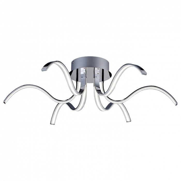 Потолочная люстра Kink LightПолимерные плафоны<br>Артикул - KL_07935,Бренд - Kink Light (Китай),Коллекция - Волна,Гарантия, месяцы - 12,Высота, мм - 170,Диаметр, мм - 630,Размер упаковки, мм - 530x530x460,Тип лампы - светодиодная [LED],Общее кол-во ламп - 6,Максимальная мощность лампы, Вт - 6,Цвет лампы - белый,Лампы в комплекте - светодиодные [LED],Цвет плафонов и подвесок - белый,Тип поверхности плафонов - матовый,Материал плафонов и подвесок - полимер,Цвет арматуры - хром,Тип поверхности арматуры - глянцевый,Материал арматуры - металл,Количество плафонов - 6,Возможность подлючения диммера - нельзя,Цветовая температура, K - 4000 K,Световой поток, лм - 2880,Экономичнее лампы накаливания - в 5.3 раза,Светоотдача, лм/Вт - 80,Класс электробезопасности - I,Напряжение питания, В - 220,Общая мощность, Вт - 36,Степень пылевлагозащиты, IP - 20,Диапазон рабочих температур - комнатная температура,Дополнительные параметры - способ крепления светильника к потолку - на монтажной пластине<br>