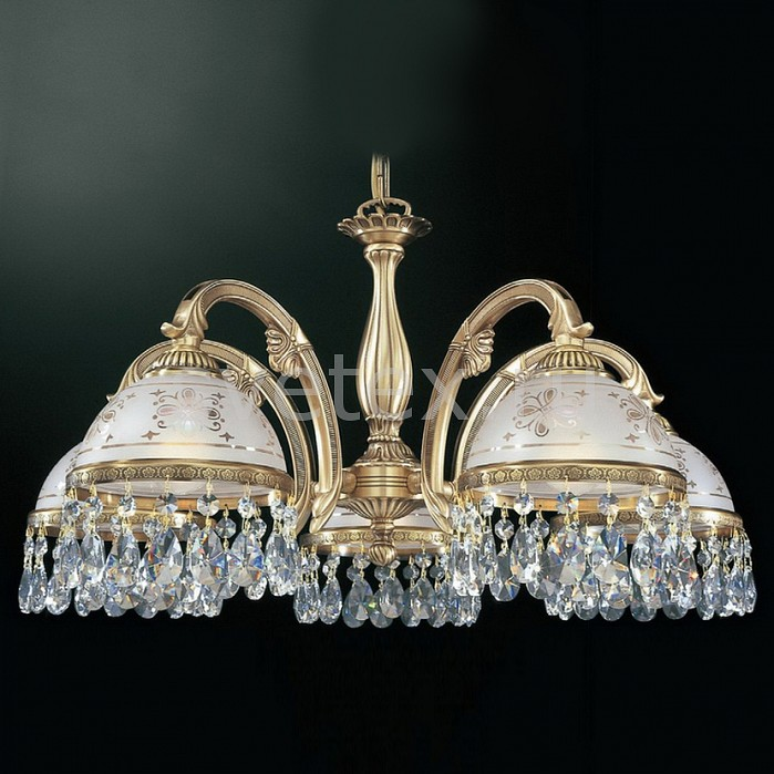 Подвесная люстра Reccagni AngeloЛюстры<br>Артикул - RA_L_6000_5,Бренд - Reccagni Angelo (Италия),Коллекция - 6000,Гарантия, месяцы - 24,Высота, мм - 360-560,Диаметр, мм - 620,Тип лампы - компактная люминесцентная [КЛЛ] ИЛИнакаливания ИЛИсветодиодная [LED],Общее кол-во ламп - 5,Напряжение питания лампы, В - 220,Максимальная мощность лампы, Вт - 60,Лампы в комплекте - отсутствуют,Цвет плафонов и подвесок - белый с рисунком, неокрашенный,Тип поверхности плафонов - матовый, прозрачный,Материал плафонов и подвесок - стекло, хрусталь,Цвет арматуры - бронза состаренная,Тип поверхности арматуры - матовый, рельефный,Материал арматуры - латунь,Количество плафонов - 5,Возможность подлючения диммера - можно, если установить лампу накаливания,Тип цоколя лампы - E27,Класс электробезопасности - I,Общая мощность, Вт - 300,Степень пылевлагозащиты, IP - 20,Диапазон рабочих температур - комнатная температура,Дополнительные параметры - способ крепления светильника к потолку - на крюке, регулируется по высоте<br>
