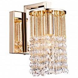 Бра Arte LampС 1 лампой<br>Артикул - AR_A3028AP-1GO,Бренд - Arte Lamp (Италия),Коллекция - Cascata,Гарантия, месяцы - 24,Высота, мм - 190,Размер упаковки, мм - 100x180x160,Тип лампы - компактная люминесцентная [КЛЛ] ИЛИнакаливания ИЛИсветодиодная [LED],Общее кол-во ламп - 1,Напряжение питания лампы, В - 220,Максимальная мощность лампы, Вт - 60,Лампы в комплекте - отсутствуют,Цвет плафонов и подвесок - неокрашенный,Тип поверхности плафонов - прозрачный,Материал плафонов и подвесок - хрусталь,Цвет арматуры - золото,Тип поверхности арматуры - глянцевый,Материал арматуры - металл,Возможность подлючения диммера - можно, если установить лампу накаливания,Тип цоколя лампы - E14,Класс электробезопасности - I,Степень пылевлагозащиты, IP - 20,Диапазон рабочих температур - комнатная температура,Дополнительные параметры - светильник предназначен для использования со скрытой проводкой, способ крепления светильника на стене – на монтажной пластине<br>