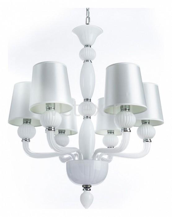 Подвесная люстра DivinareСветильники<br>Артикул - DV_1154_03_LM-6,Бренд - Divinare (Италия),Коллекция - Bilancia,Гарантия, месяцы - 24,Высота, мм - 780-1300,Диаметр, мм - 680,Тип лампы - компактная люминесцентная [КЛЛ] ИЛИнакаливания ИЛИсветодиодная [LED],Общее кол-во ламп - 6,Напряжение питания лампы, В - 220,Максимальная мощность лампы, Вт - 40,Лампы в комплекте - отсутствуют,Цвет плафонов и подвесок - белый,Тип поверхности плафонов - сатин,Материал плафонов и подвесок - текстиль,Цвет арматуры - белый, хром,Тип поверхности арматуры - глянцевый, матовый,Материал арматуры - металл, стекло,Количество плафонов - 6,Возможность подлючения диммера - можно, если установить лампу накаливания,Тип цоколя лампы - E14,Класс электробезопасности - I,Общая мощность, Вт - 240,Степень пылевлагозащиты, IP - 20,Диапазон рабочих температур - комнатная температура,Дополнительные параметры - способ крепления светильника к потолку - на крюке, регулируется по высоте<br>