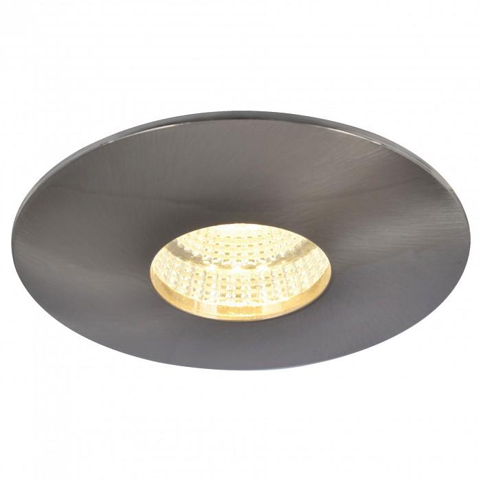 Встраиваемый светильник Arte LampВстраиваемые светильники<br>Артикул - AR_A5438PL-1SS,Бренд - Arte Lamp (Италия),Коллекция - Track lights,Гарантия, месяцы - 24,Глубина, мм - 58,Диаметр, мм - 110,Размер врезного отверстия, мм - 65,Тип лампы - светодиодная [LED],Общее кол-во ламп - 1,Максимальная мощность лампы, Вт - 9,Цвет лампы - белый теплый,Лампы в комплекте - светодиодная [LED],Цвет арматуры - серебро,Тип поверхности арматуры - матовый,Материал арматуры - металл,Возможность подлючения диммера - нельзя,Цветовая температура, K - 3000 K,Световой поток, лм - 560,Экономичнее лампы накаливания - в 6 раз,Светоотдача, лм/Вт - 62,Класс электробезопасности - I,Напряжение питания, В - 220,Степень пылевлагозащиты, IP - 20,Диапазон рабочих температур - комнатная температура<br>
