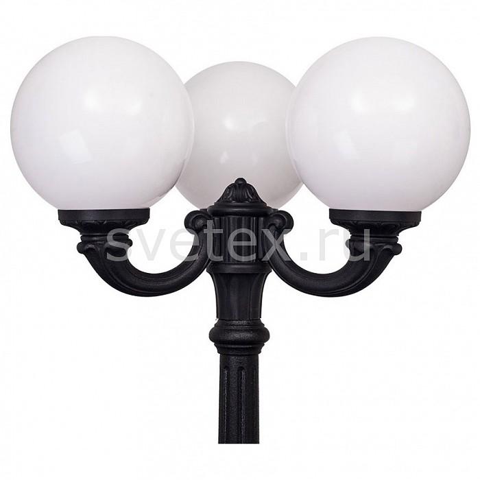 Фонарный столб FumagalliСветильники<br>Артикул - FU_G30.157.R30.AYE27,Бренд - Fumagalli (Италия),Коллекция - Globe 300,Гарантия, месяцы - 24,Высота, мм - 2250,Диаметр, мм - 1070,Тип лампы - компактная люминесцентная [КЛЛ] ИЛИнакаливания ИЛИсветодиодная [LED],Общее кол-во ламп - 3,Напряжение питания лампы, В - 220,Максимальная мощность лампы, Вт - 60,Лампы в комплекте - отсутствуют,Цвет плафонов и подвесок - белый,Тип поверхности плафонов - матовый,Материал плафонов и подвесок - полимер,Цвет арматуры - черный,Тип поверхности арматуры - матовый,Материал арматуры - металл,Количество плафонов - 3,Тип цоколя лампы - E27,Класс электробезопасности - I,Общая мощность, Вт - 180,Степень пылевлагозащиты, IP - 65,Диапазон рабочих температур - от -40^C до +40^C<br>