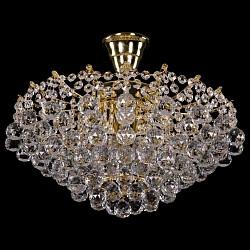 Люстра на штанге Bohemia Ivele Crystal5 или 6 ламп<br>Артикул - BI_7331_42_G,Бренд - Bohemia Ivele Crystal (Чехия),Коллекция - 7331,Гарантия, месяцы - 12,Высота, мм - 250,Диаметр, мм - 450,Размер упаковки, мм - 450x450x200,Тип лампы - компактная люминесцентная [КЛЛ] ИЛИнакаливания ИЛИсветодиодная [LED],Общее кол-во ламп - 5,Напряжение питания лампы, В - 220,Максимальная мощность лампы, Вт - 40,Лампы в комплекте - отсутствуют,Цвет плафонов и подвесок - неокрашенный,Тип поверхности плафонов - прозрачный,Материал плафонов и подвесок - хрусталь,Цвет арматуры - золото,Тип поверхности арматуры - глянцевый, рельефный,Материал арматуры - металл,Возможность подлючения диммера - можно, если установить лампу накаливания,Тип цоколя лампы - E14,Класс электробезопасности - I,Общая мощность, Вт - 200,Степень пылевлагозащиты, IP - 20,Диапазон рабочих температур - комнатная температура,Дополнительные параметры - способ крепления светильника к потолку – на крюке<br>