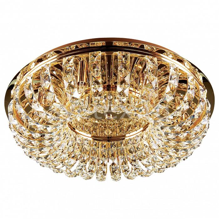 Накладной светильник LightstarКруглые<br>Артикул - LS_741072,Бренд - Lightstar (Италия),Коллекция - Onda,Гарантия, месяцы - 24,Время изготовления, дней - 1,Высота, мм - 230,Диаметр, мм - 650,Тип лампы - галогеновая ИЛИсветодиодная [LED],Общее кол-во ламп - 7,Напряжение питания лампы, В - 220,Максимальная мощность лампы, Вт - 40,Лампы в комплекте - отсутствуют,Цвет плафонов и подвесок - неокрашенный,Тип поверхности плафонов - прозрачный,Материал плафонов и подвесок - хрусталь,Цвет арматуры - золото,Тип поверхности арматуры - глянцевый,Материал арматуры - металл,Количество плафонов - 1,Возможность подлючения диммера - можно,Форма и тип колбы - пальчиковая,Тип цоколя лампы - G9,Класс электробезопасности - I,Степень пылевлагозащиты, IP - 20,Диапазон рабочих температур - комнатная температура<br>
