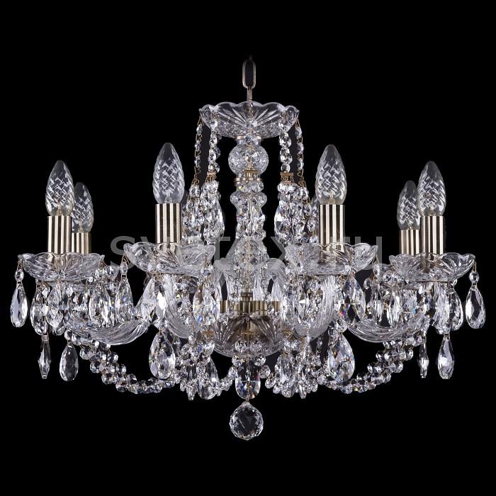 Фото Подвесная люстра Bohemia Ivele Crystal 1406 1406/8/195/Pa