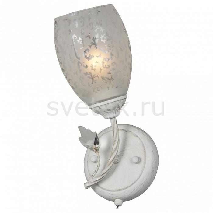 Бра IDLampНастенные светильники<br>Артикул - ID_874_1A-Whitepatina,Бренд - IDLamp (Италия),Коллекция - 874,Гарантия, месяцы - 24,Время изготовления, дней - 1,Ширина, мм - 160,Высота, мм - 260,Выступ, мм - 250,Тип лампы - компактная люминесцентная [КЛЛ] ИЛИнакаливания ИЛИсветодиодная [LED],Общее кол-во ламп - 1,Напряжение питания лампы, В - 220,Максимальная мощность лампы, Вт - 60,Лампы в комплекте - отсутствуют,Цвет плафонов и подвесок - белый с рисунком, неокрашенный,Тип поверхности плафонов - матовый,Материал плафонов и подвесок - стекло,Цвет арматуры - белый с патиной,Тип поверхности арматуры - матовый,Материал арматуры - металл,Количество плафонов - 1,Наличие выключателя, диммера или пульта ДУ - выключатель,Тип цоколя лампы - E27,Степень пылевлагозащиты, IP - 20,Диапазон рабочих температур - комнатная температура,Дополнительные параметры - светильник предназначен для использования со скрытой проводкой<br>