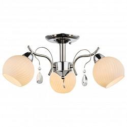 Люстра на штанге GloboНе более 4 ламп<br>Артикул - GB_54711-3,Бренд - Globo (Австрия),Коллекция - Perdita,Гарантия, месяцы - 24,Высота, мм - 240,Диаметр, мм - 530,Тип лампы - компактная люминесцентная [КЛЛ] ИЛИнакаливания ИЛИсветодиодная [LED],Общее кол-во ламп - 3,Напряжение питания лампы, В - 220,Максимальная мощность лампы, Вт - 60,Лампы в комплекте - отсутствуют,Цвет плафонов и подвесок - белый полосатый, неокрашенный,Тип поверхности плафонов - матовый, прозрачный, рельефные,Материал плафонов и подвесок - стекло, хрусталь,Цвет арматуры - хром,Тип поверхности арматуры - глянцевый,Материал арматуры - металл,Возможность подлючения диммера - можно, если установить лампу накаливания,Тип цоколя лампы - E14,Класс электробезопасности - I,Общая мощность, Вт - 180,Степень пылевлагозащиты, IP - 20,Диапазон рабочих температур - комнатная температура,Дополнительные параметры - способ крепления к потолку - на монтажной пластине<br>