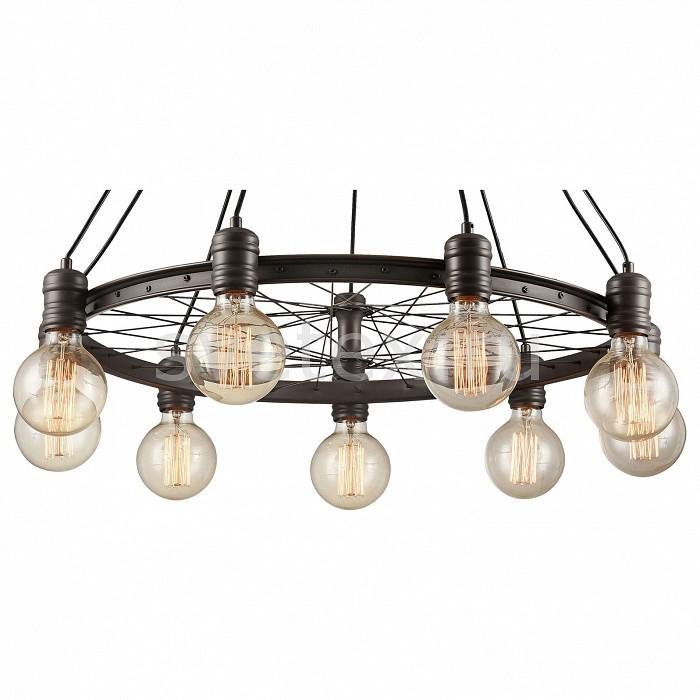 Подвесная люстра CitiluxПотолочные светильники и люстры<br>Артикул - CL446291,Бренд - Citilux (Дания),Коллекция - Максвелл,Гарантия, месяцы - 24,Высота, мм - 500-1050,Диаметр, мм - 720,Тип лампы - компактная люминесцентная [КЛЛ] ИЛИнакаливания ИЛИсветодиодная [LED],Общее кол-во ламп - 9,Напряжение питания лампы, В - 220,Максимальная мощность лампы, Вт - 75,Лампы в комплекте - отсутствуют,Цвет арматуры - коричневый,Тип поверхности арматуры - матовый,Материал арматуры - металл,Возможность подлючения диммера - можно, если установить лампу накаливания,Тип цоколя лампы - E27,Класс электробезопасности - I,Общая мощность, Вт - 675,Степень пылевлагозащиты, IP - 20,Диапазон рабочих температур - комнатная температура,Дополнительные параметры - способ крепления светильника к потолку - на монтажной пластине, светильник регулируется по высоте<br>