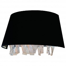 Накладной светильник DivinareСветодиодные<br>Артикул - DV_1153_01_AP-2,Бренд - Divinare (Италия),Коллекция - Pluvia,Гарантия, месяцы - 24,Высота, мм - 210,Тип лампы - компактная люминесцентная [КЛЛ] ИЛИнакаливания ИЛИсветодиодная [LED],Общее кол-во ламп - 2,Напряжение питания лампы, В - 220,Максимальная мощность лампы, Вт - 40,Лампы в комплекте - отсутствуют,Цвет плафонов и подвесок - неокрашенный, черный,Тип поверхности плафонов - матовый, прозрачный,Материал плафонов и подвесок - стекло, текстиль,Цвет арматуры - хром,Тип поверхности арматуры - глянцевый,Материал арматуры - металл,Возможность подлючения диммера - можно, если установить лампу накаливания,Тип цоколя лампы - E14,Класс электробезопасности - I,Общая мощность, Вт - 80,Степень пылевлагозащиты, IP - 20,Диапазон рабочих температур - комнатная температура,Дополнительные параметры - способ крепления светильника на стене – на монтажной пластине, светильник предназначен для использования со скрытой проводкой<br>