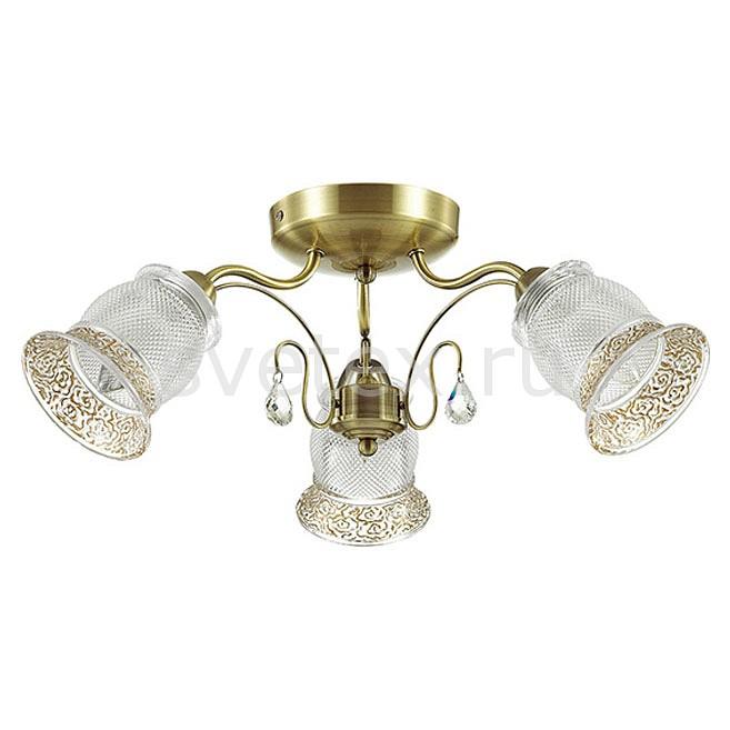 Потолочная люстра LumionЛюстры<br>Артикул - LMN_3415_3C,Бренд - Lumion (Италия),Коллекция - Rakella,Гарантия, месяцы - 24,Высота, мм - 230,Диаметр, мм - 580,Размер упаковки, мм - 160x310x280,Тип лампы - компактная люминесцентная [КЛЛ] ИЛИнакаливания ИЛИсветодиодная [LED],Общее кол-во ламп - 3,Напряжение питания лампы, В - 220,Максимальная мощность лампы, Вт - 40,Лампы в комплекте - отсутствуют,Цвет плафонов и подвесок - неокрашенный с желтой каймой,Тип поверхности плафонов - прозрачный, рельефный,Материал плафонов и подвесок - стекло, хрусталь,Цвет арматуры - бронза,Тип поверхности арматуры - матовый,Материал арматуры - металл,Количество плафонов - 3,Возможность подлючения диммера - можно, если установить лампу накаливания,Тип цоколя лампы - E14,Класс электробезопасности - I,Общая мощность, Вт - 120,Степень пылевлагозащиты, IP - 20,Диапазон рабочих температур - комнатная температура,Дополнительные параметры - способ крепления светильника к потолку - на монтажной пластине<br>