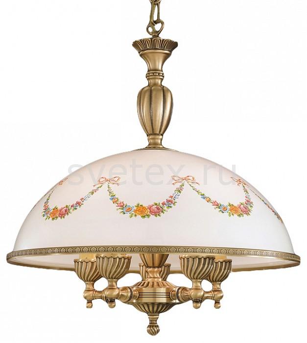 Подвесной светильник Reccagni AngeloСветодиодные<br>Артикул - RA_L_8000_48,Бренд - Reccagni Angelo (Италия),Коллекция - 8000,Гарантия, месяцы - 24,Высота, мм - 560-1000,Диаметр, мм - 480,Тип лампы - компактная люминесцентная [КЛЛ] ИЛИнакаливания ИЛИсветодиодная [LED],Общее кол-во ламп - 5,Напряжение питания лампы, В - 220,Максимальная мощность лампы, Вт - 60,Лампы в комплекте - отсутствуют,Цвет плафонов и подвесок - белый с рисунком и с каймой,Тип поверхности плафонов - матовый,Материал плафонов и подвесок - стекло,Цвет арматуры - бронза состаренная,Тип поверхности арматуры - матовый, рельефный,Материал арматуры - латунь,Количество плафонов - 1,Возможность подлючения диммера - можно, если установить лампу накаливания,Тип цоколя лампы - E27,Класс электробезопасности - I,Общая мощность, Вт - 300,Степень пылевлагозащиты, IP - 20,Диапазон рабочих температур - комнатная температура,Дополнительные параметры - способ крепления к потолку - на монтажной пластине, регулируется по высоте<br>