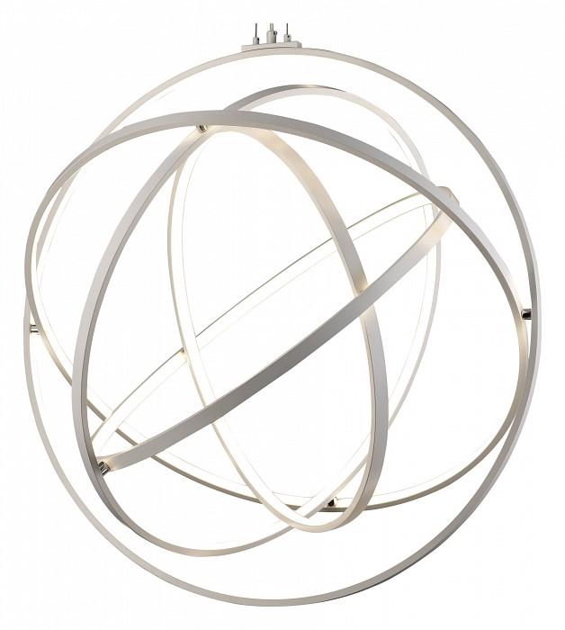 Подвесной светильник MantraС пультом управления<br>Артикул - MN_5740,Бренд - Mantra (Испания),Коллекция - Orbital,Гарантия, месяцы - 24,Высота, мм - 2370,Диаметр, мм - 800,Тип лампы - светодиодная [LED],Общее кол-во ламп - 1,Напряжение питания лампы, В - 220,Максимальная мощность лампы, Вт - 130,Цвет лампы - белый теплый,Лампы в комплекте - светодиодная [LED] с возможностью диммирования,Цвет плафонов и подвесок - белый,Тип поверхности плафонов - матовый,Материал плафонов и подвесок - акрил,Цвет арматуры - хром,Тип поверхности арматуры - глянцевый,Материал арматуры - металл,Количество плафонов - 1,Наличие выключателя, диммера или пульта ДУ - пульт ДУ,Цветовая температура, K - 3000 K,Световой поток, лм - 4250,Экономичнее лампы накаливания - В 2 раз,Светоотдача, лм/Вт - 33,Класс электробезопасности - I,Степень пылевлагозащиты, IP - 20,Диапазон рабочих температур - комнатная температура,Дополнительные параметры - способ крепления светильника к потолку - на монтажной пластине, светильник регулируется по высоте<br>