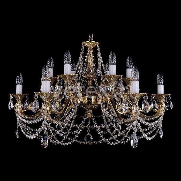 Фото Подвесная люстра Bohemia Ivele Crystal 1703 1703/12/C/G