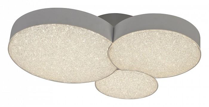 Накладной светильник MantraСветодиодные<br>Артикул - MN_5766,Бренд - Mantra (Испания),Коллекция - Lunas,Гарантия, месяцы - 24,Длина, мм - 400,Ширина, мм - 328,Высота, мм - 100,Тип лампы - светодиодная [LED],Общее кол-во ламп - 3,Напряжение питания лампы, В - 220,Максимальная мощность лампы, Вт - 9,Цвет лампы - белый теплый,Лампы в комплекте - светодиодные [LED] с возможностью диммирования,Цвет плафонов и подвесок - неокрашенный,Тип поверхности плафонов - прозрачный, рельефный,Материал плафонов и подвесок - акрил,Цвет арматуры - белый,Тип поверхности арматуры - матовый,Материал арматуры - металл,Количество плафонов - 3,Наличие выключателя, диммера или пульта ДУ - пульт ДУ,Цветовая температура, K - 3000 K,Световой поток, лм - 1430,Экономичнее лампы накаливания - в 12.6 раза,Светоотдача, лм/Вт - 53,Класс электробезопасности - I,Общая мощность, Вт - 27,Степень пылевлагозащиты, IP - 20,Диапазон рабочих температур - комнатная температура,Дополнительные параметры - способ крепления светильника к потолку - на монтажной пластине<br>