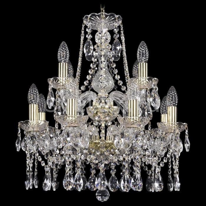 Подвесная люстра Bohemia Ivele CrystalБолее 6 ламп<br>Артикул - BI_1413_8_4_165_2d_G,Бренд - Bohemia Ivele Crystal (Чехия),Коллекция - 1413,Гарантия, месяцы - 24,Высота, мм - 400,Диаметр, мм - 570,Размер упаковки, мм - 450x450x200,Тип лампы - компактная люминесцентная [КЛЛ] ИЛИнакаливания ИЛИсветодиодная [LED],Общее кол-во ламп - 12,Напряжение питания лампы, В - 220,Максимальная мощность лампы, Вт - 40,Лампы в комплекте - отсутствуют,Цвет плафонов и подвесок - неокрашенный,Тип поверхности плафонов - прозрачный,Материал плафонов и подвесок - хрусталь,Цвет арматуры - золото, неокрашенный,Тип поверхности арматуры - глянцевый, прозрачный,Материал арматуры - металл, стекло,Возможность подлючения диммера - можно, если установить лампу накаливания,Форма и тип колбы - свеча ИЛИ свеча на ветру,Тип цоколя лампы - E14,Класс электробезопасности - I,Общая мощность, Вт - 480,Степень пылевлагозащиты, IP - 20,Диапазон рабочих температур - комнатная температура,Дополнительные параметры - способ крепления светильника к потолку - на крюке, указана высота светильники без подвеса<br>