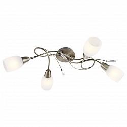 Потолочная люстра GloboНе более 4 ламп<br>Артикул - GB_54645-4,Бренд - Globo (Австрия),Коллекция - Forrest,Гарантия, месяцы - 24,Высота, мм - 180,Размер упаковки, мм - 210x130x590,Тип лампы - компактная люминесцентная [КЛЛ] ИЛИнакаливания ИЛИсветодиодная [LED],Общее кол-во ламп - 4,Напряжение питания лампы, В - 220,Максимальная мощность лампы, Вт - 40,Лампы в комплекте - отсутствуют,Цвет плафонов и подвесок - белый алебастр,Тип поверхности плафонов - матовый,Материал плафонов и подвесок - акрил, стекло,Цвет арматуры - бронза античная,Тип поверхности арматуры - матовый,Материал арматуры - металл,Возможность подлючения диммера - можно, если установить лампу накаливания,Тип цоколя лампы - E14,Класс электробезопасности - I,Общая мощность, Вт - 160,Степень пылевлагозащиты, IP - 20,Диапазон рабочих температур - комнатная температура,Дополнительные параметры - способ крепления светильника к потолку - на монтажной пластине<br>