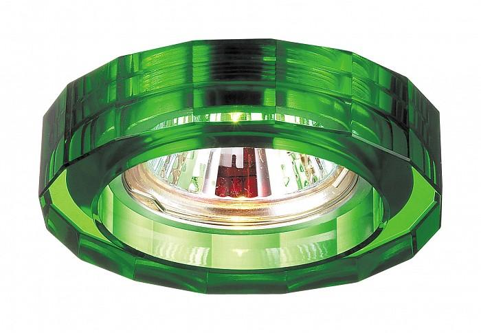 Фото Встраиваемый светильник Novotech Glass 369491