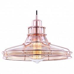 Подвесной светильник GloboС 1 плафоном<br>Артикул - GB_15148,Бренд - Globo (Австрия),Коллекция - Donna,Гарантия, месяцы - 24,Высота, мм - 1200,Диаметр, мм - 270,Размер упаковки, мм - 150x150x60,Тип лампы - накаливания,Общее кол-во ламп - 1,Напряжение питания лампы, В - 220,Максимальная мощность лампы, Вт - 60,Лампы в комплекте - накаливания E27,Цвет плафонов и подвесок - медь, неокрашенный,Тип поверхности плафонов - матовый, прозрачный,Материал плафонов и подвесок - металл, стекло,Цвет арматуры - медь,Тип поверхности арматуры - матовый,Материал арматуры - металл,Возможность подлючения диммера - можно,Форма и тип колбы - конусная,Тип цоколя лампы - E27,Класс электробезопасности - I,Степень пылевлагозащиты, IP - 20,Диапазон рабочих температур - комнатная температура,Дополнительные параметры - способ крепления светильника к потолку - на монтажной пластине<br>
