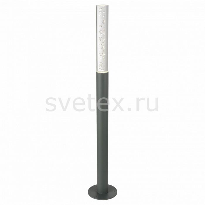 Наземный низкий светильник ST-LuceСветильники<br>Артикул - SL102.715.01,Бренд - ST-Luce (Китай),Коллекция - SL102,Гарантия, месяцы - 24,Время изготовления, дней - 1,Высота, мм - 800,Диаметр, мм - 38,Размер упаковки, мм - 610х330х270,Тип лампы - светодиодная [LED],Общее кол-во ламп - 1,Напряжение питания лампы, В - 220,Максимальная мощность лампы, Вт - 3,Цвет лампы - белый,Лампы в комплекте - светодиодная [LED],Цвет плафонов и подвесок - неокрашенный с пузырьками,Тип поверхности плафонов - прозрачный,Материал плафонов и подвесок - стекло,Цвет арматуры - серый,Тип поверхности арматуры - матовый,Материал арматуры - металл,Количество плафонов - 1,Цветовая температура, K - 4000 K,Класс электробезопасности - I,Степень пылевлагозащиты, IP - 65,Диапазон рабочих температур - от -40^С до +40^C<br>