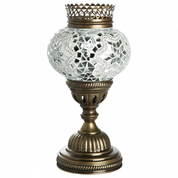 Настольная лампа Kink LightСветильники<br>Артикул - KL_0912A.07,Бренд - Kink Light (Китай),Коллекция - Марокко,Гарантия, месяцы - 12,Высота, мм - 260,Диаметр, мм - 120,Тип лампы - компактная люминесцентная [КЛЛ] ИЛИнакаливания ИЛИсветодиодная [LED],Общее кол-во ламп - 1,Напряжение питания лампы, В - 220,Максимальная мощность лампы, Вт - 40,Лампы в комплекте - отсутствуют,Цвет плафонов и подвесок - зеленый с рисунокм,Тип поверхности плафонов - глянцевый, рельефный,Материал плафонов и подвесок - стекло,Цвет арматуры - бронза,Тип поверхности арматуры - глянцевый,Материал арматуры - металл,Количество плафонов - 1,Наличие выключателя, диммера или пульта ДУ - выключатель на проводе,Возможность подлючения диммера - можно, если установить лампу накаливания,Необходимые компоненты - провод электропитания с вилкой без заземления,Тип цоколя лампы - E14,Класс электробезопасности - II,Степень пылевлагозащиты, IP - 20,Диапазон рабочих температур - комнатная температура,Дополнительные параметры - техника мозаика<br>