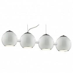 Подвесной светильник ST-LuceБарные<br>Артикул - SL873.503.04,Бренд - ST-Luce (Китай),Коллекция - Nano,Гарантия, месяцы - 24,Высота, мм - 400-1200,Размер упаковки, мм - 940x210x230,Тип лампы - компактная люминесцентная [КЛЛ] ИЛИнакаливания ИЛИсветодиодная [LED],Общее кол-во ламп - 4,Напряжение питания лампы, В - 220,Максимальная мощность лампы, Вт - 40,Лампы в комплекте - отсутствуют,Цвет плафонов и подвесок - белый, неокрашенный,Тип поверхности плафонов - матовый, прозрачный,Материал плафонов и подвесок - металл, стекло,Цвет арматуры - белый,Тип поверхности арматуры - матовый,Материал арматуры - металл,Возможность подлючения диммера - можно, если установить лампу накаливания,Тип цоколя лампы - E27,Класс электробезопасности - I,Общая мощность, Вт - 160,Степень пылевлагозащиты, IP - 20,Диапазон рабочих температур - комнатная температура,Дополнительные параметры - способ крепления светильника к потолку – на монтажной пластине, регулируется по высоте<br>
